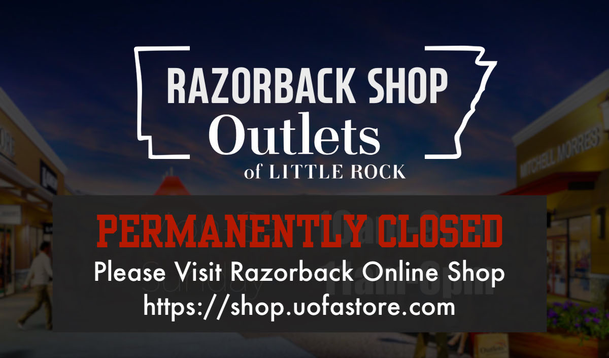 Razorback Shop Outlets of Little Rock Hours